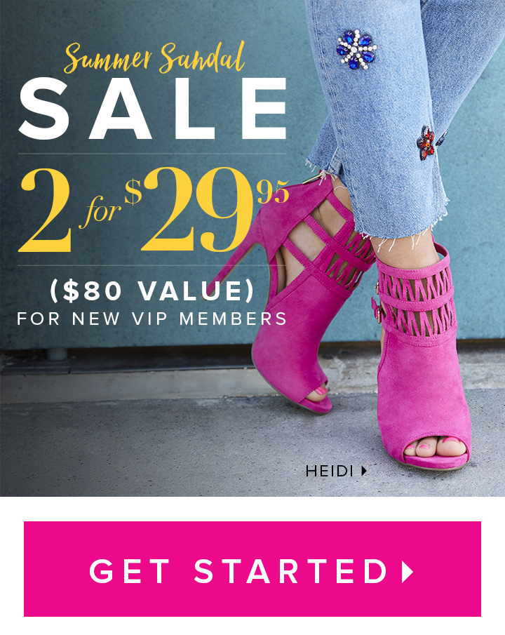 Shop online for exclusive designer women's shoes, heels, wedges, sandals, boots, handbags and clothing. Shoes starting as low as $, plus 50% off your entire first order.