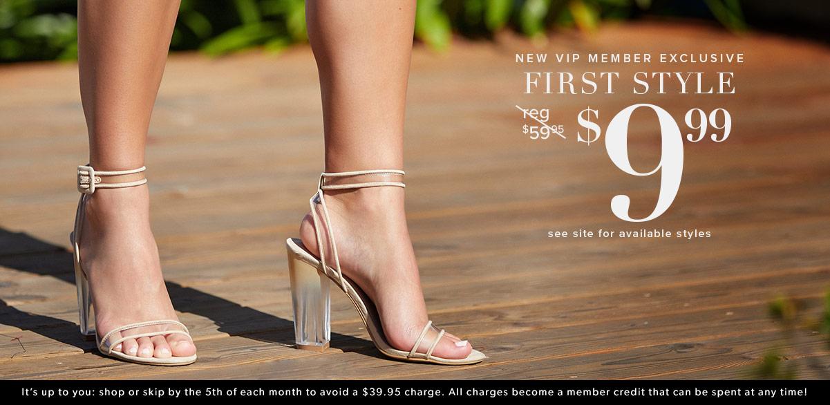 03ce95bd2d Women's Shoes, Bags & Clothes Online - 1st Style for $10!   ShoeDazzle