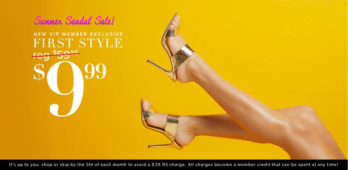 03ce95bd2d Women's Shoes, Bags & Clothes Online - 1st Style for $10! | ShoeDazzle