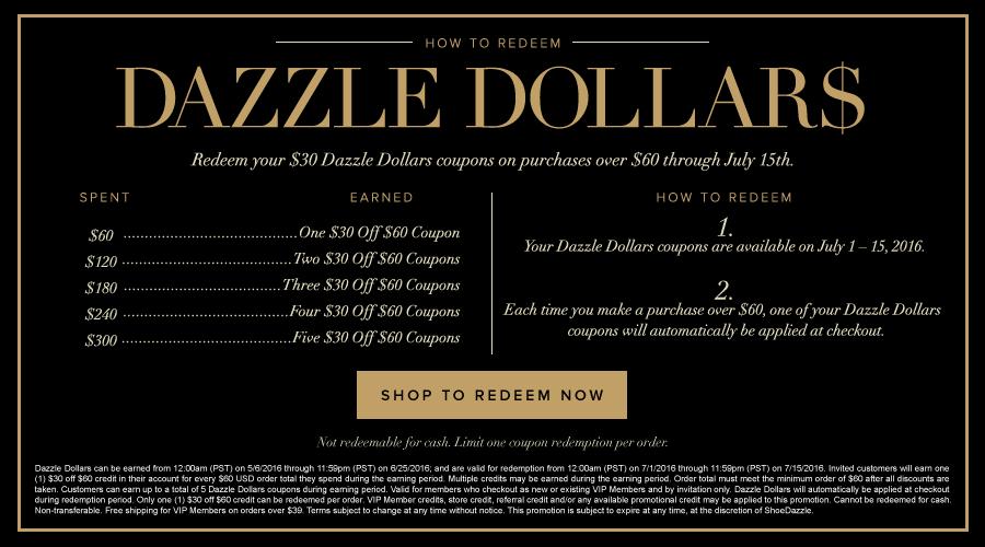 Dazzle Dollars