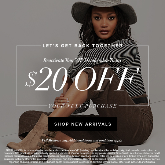 $20 Off: Reactivate Your VIP Membership Today